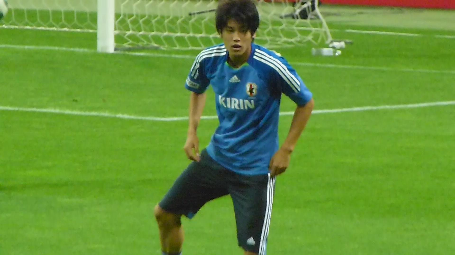 日本代表 内田篤人 画像 サッカー日本代表メンバー